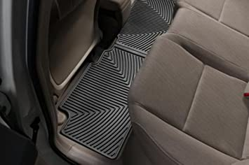 WeatherTech Rear FloorLiner for Select Honda Civic Models Black