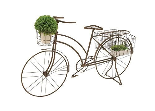 Deco 79 Metal Bicycle Planter, 63 by 39-Inch