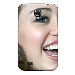 Protective Tpu Case With Fashion Design For Galaxy S4 (pop Princess Miley Cyrus)