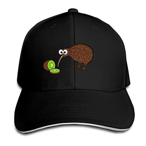 Kiwi Bird Dad Hat Baseball Cap Peaked Trucker Hats for Men Women
