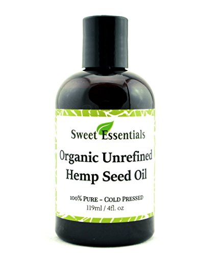 100-Pure-Cold-Pressed-Organic-Extra-Virgin-Unrefined-Hemp-Seed-Oil-Also-Edible-4oz-Imported-From-Canada-Offers-Relief-From-Dry-Cracked-Skin-Eczema-Baby-Eczema-Psoriasis-Dermatitis-Rosacea-All-Common-S