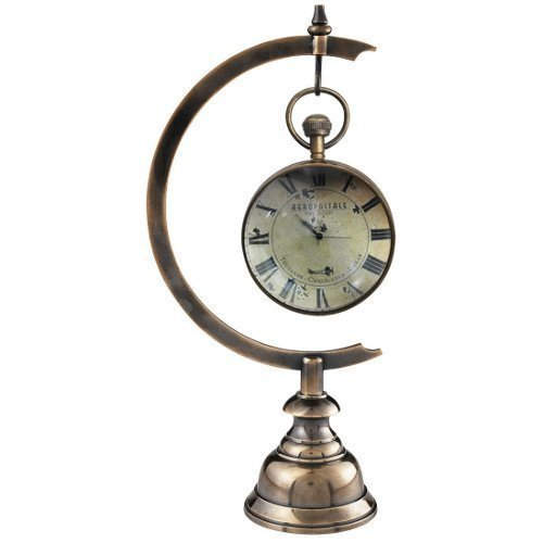 (Brass Stand for Eye of Time Clock in Duo Tone Bronze)