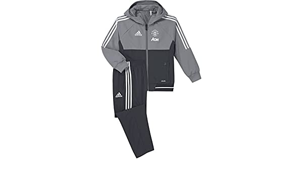 adidas MUFC Pre Suit I Chándal Manchester United FC 07156620ac018