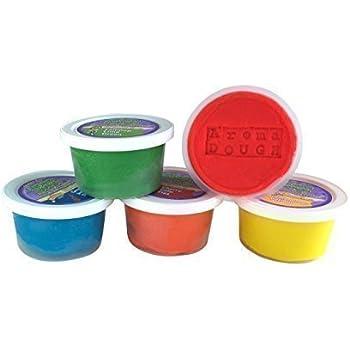 Aroma Dough®  Aromatherapy Dough, Soy-Free Gluten Free Play Dough For Kids, Eco Friendly Playdough Set (5 Pack) , All Natural Aromas!