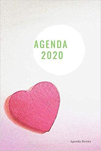 Agenda 2020: agenda donna settimanale formato A5 scritta in ...
