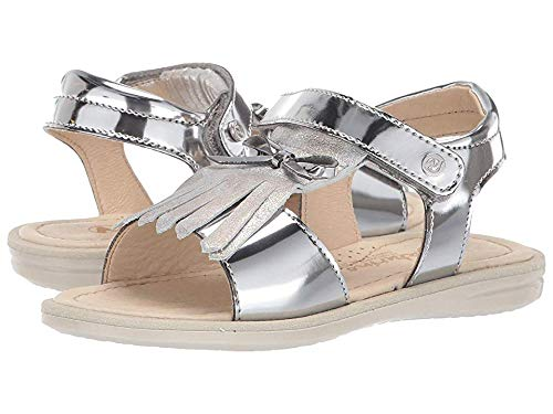 Naturino Girl's Sassari SS19 (Little Kid/Big Kid) Silver 31 M EU