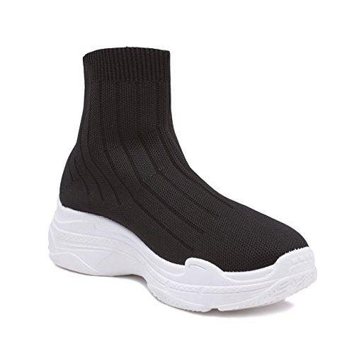 Palestra Sportive 127 Calzino Ginnastica Scarpe Nero Sneakers Mforshop Tipo Donna Speed 3a 126 vqpf8wH0