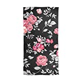 Roses Greet The Spring Breeze Soft Lightweight Fashion Flowers Print Scarf Understated Elegance