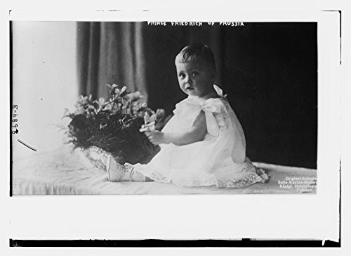 1910 Photo Prince Frederick of Prussia