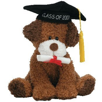 Ty Beanie Babies Honor Roll - Graduation Dog Class of 2007
