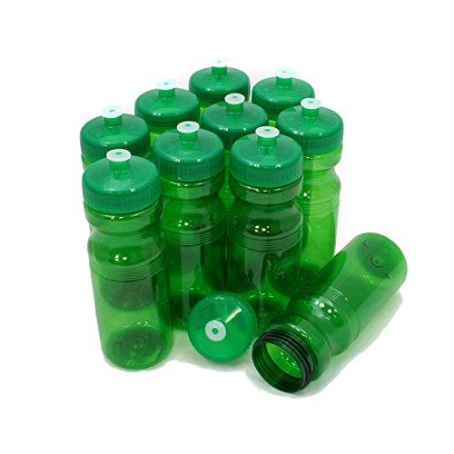 Rolling Sands 24oz Drink Bottles Green (10 Pack)