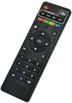 acemax IR Mando a Distancia de Repuesto para Android TV Box MXQ M8 MXQ Pro M8 N M8s M10 M12 X96 MINI X96 MAX X96S KODI Streaming Media Player: Amazon.es: Electrónica