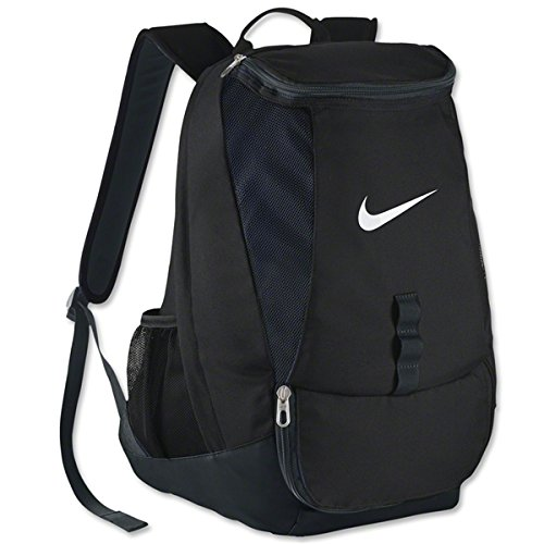 Nike Rucksack Club Team, black/white, 45 x 35 x 22,5 cm, 37 Liter, BA5190-010