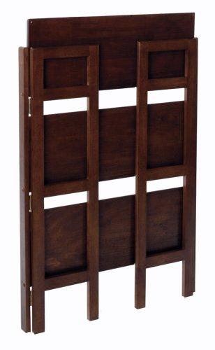 Winsome Wood Stackable/Folding Shelf 3-Tier