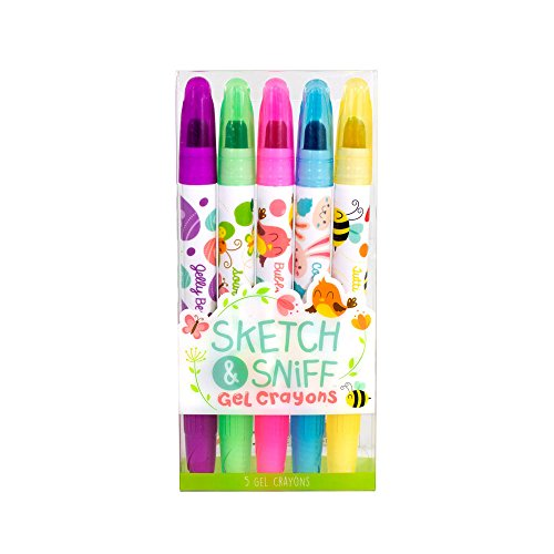 Scentco Spring Sketch & Sniff Scented Gel Crayons 5-Pack ()