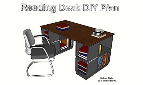 "Reading Desk DIY Plans: Plans to built a wooden ""Reading"" Desk"
