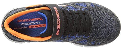 Skechers Equalizer 2.0-Point Keeper, Zapatillas para Niños Gris (Ccbk)