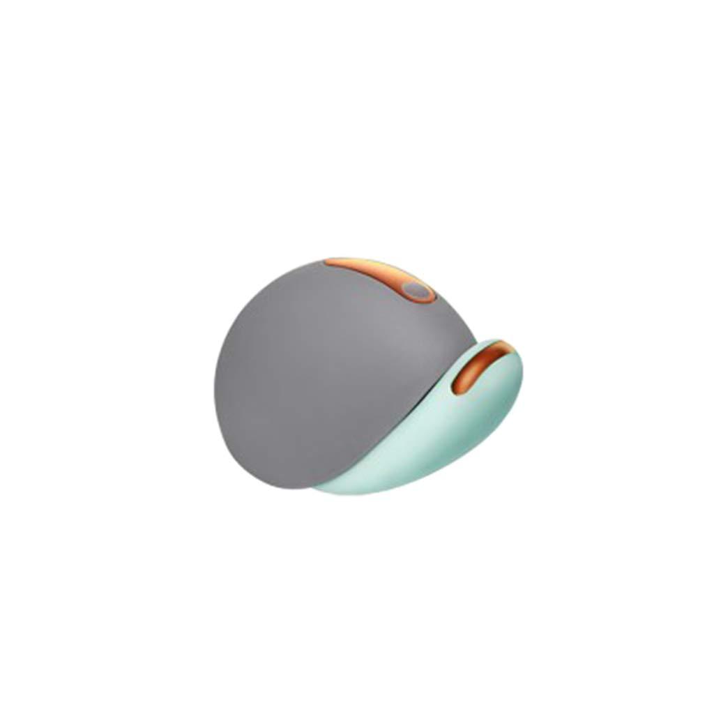 JADEKIOR Waterproof Snail Shape Ball Massager, Women Adult Couples Toy-Green, Pink