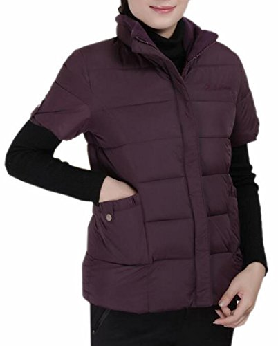 Zip 6 Outerwear Down Vest Padded Women Jacket Quilted Lightweight today UK Up 6WnxFtnPq