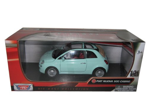 fiat-500-nuova-cabrio-green-1-24-by-motormax-73374
