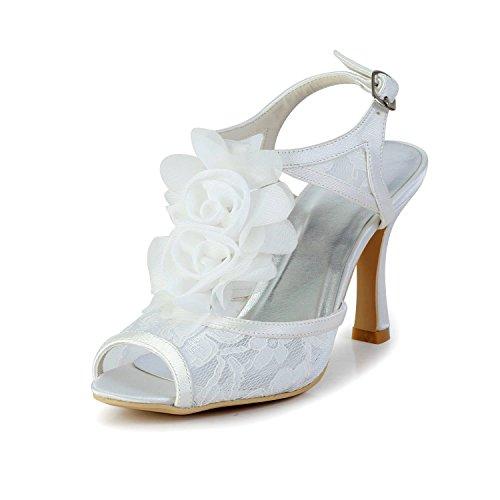 35 9cm Minitoo Beige Heel Sandali Donna ivory paxqwzfA
