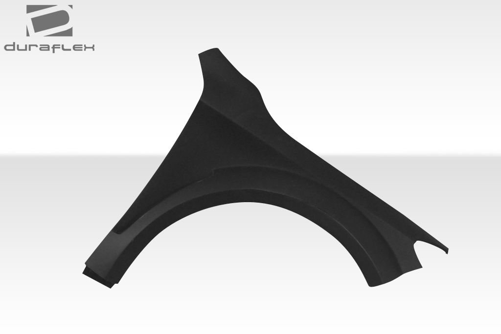 Duraflex Replacement for 2014-2015 Mercedes CLA Class Black Series Look Wide Body Front Fenders - 2 Piece by Duraflex (Image #4)