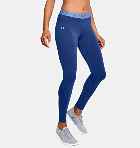 Under Armour Women's Favorite Leggings, Formation Blue /Formation Blue, X-Small by Under Armour (Image #4)