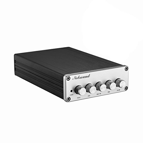 Nobsound HiFi TPA3116D2 2.1 Channel Digital Audio Power Amplifier Stereo Amp 2×50W+100W Subwoofer Treble Bass Independent Adjustment by Nobsound