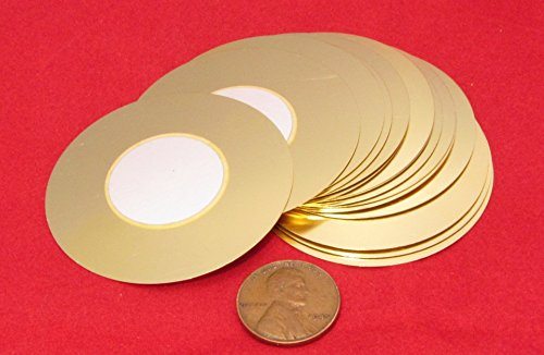 15 Pieces - Jumbo 50mm Piezo Disc Elements Great for Cigar Box Guitar & Stomp Box Acoustic Pickup Extra Large