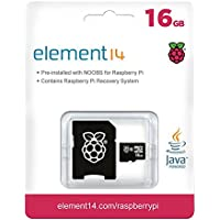 Raspberry Pi 16GB Preloaded (NOOBS) SD Card, Pre-installed, Class 10 - Raspberry Pi Recovery System (2 Pack)