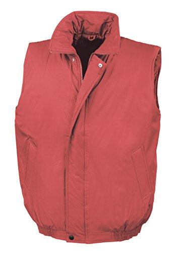 Rojo Acolchado Acolchado Rojo Chaleco Chaleco qwfn4pz