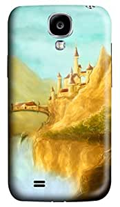 Brian114 Samsung Galaxy S4 Case, S4 Case - 3D Print Pattern Hard Cover for Samsung Galaxy S4 I9500 Sand Castles Extremely Protective Case for Samsung Galaxy S4 I9500