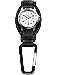 Watch Company Leather Field Clip Watch