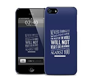 never forget iPhone 5 / 5S protective case