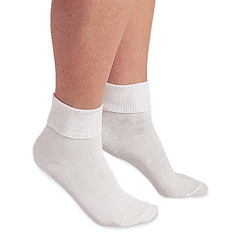Buster Brown Ankle Socks, 3 Pack, White, Medium