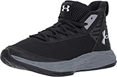 Leather & textile upper combination for breathability & support. Enhanced cushioning around ankle collar for superior comfort. Ventilated mesh midfoot panel. Molded heel for locked-in support & fit. Die-cut EVA sockliner provides ...