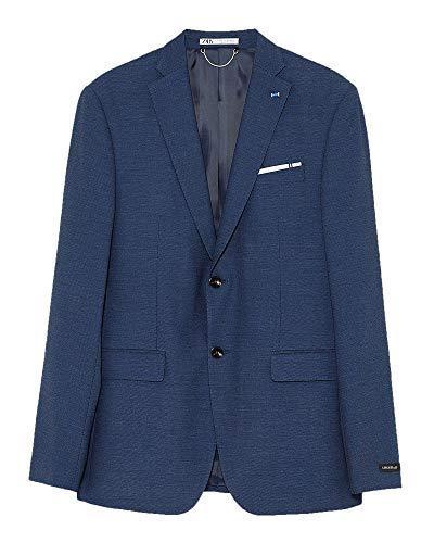 Zara Men Bird?s-Eye Suit Blazer 1564/350 (50 EU) Blue ()
