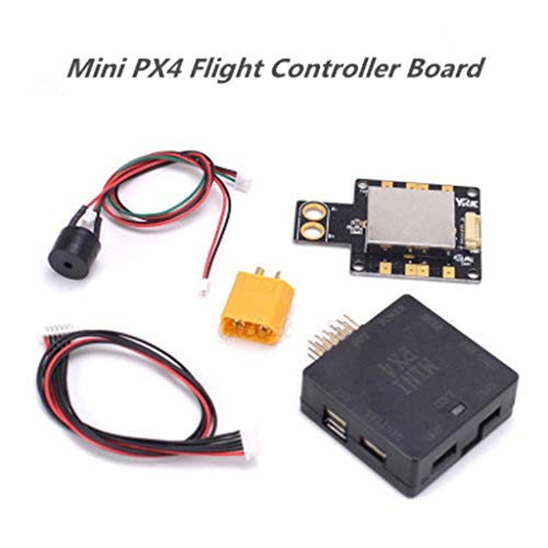TANGON Mini PX4 Flight Controller Board FPV RC Drone FC with Power Module for Multi-axis Racing Drone/Multirotor/Quadcopter ()