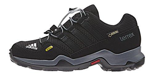 adidas Terrex GTX K, Zapatillas de Running Unisex Bebé Negro / Gris (Negbas / Negbas / Grivis)
