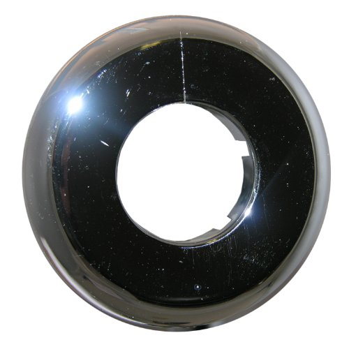 LASCO 03-1587 Floor and Ceiling Flange, Fits 1-Inch Iron Pipe, Chrome Plated Plastic