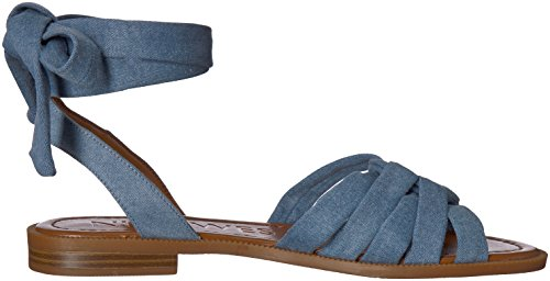 Sandale Denim Xameera Femmes Ouest Lumière Bleu Neuf Denim Plate qOFxEwa4a