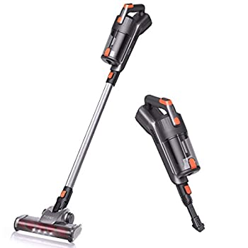 Image of Stick Vacuums & Electric Brooms Aiper Cordless Vacuum Cleaner, 18KPa Super Suction 3 in 1 Lightweight Stick Vacuum with Detachable Battery, up to 40 Minutes' Runtime and LED Brush for Home Hard Floor Carpet Car Pet Cat Litter