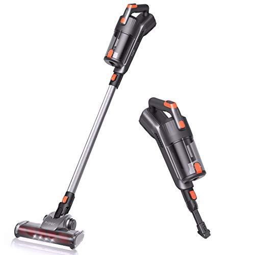 Aiper Cordless Vacuum Cleaner, 18KPa Super Suction 3 in 1 Lightweight Stick Vacuum with Detachable Battery, up to 40 Minutes' Runtime and LED Brush for Home Hard Floor Carpet Car Pet Cat Litter