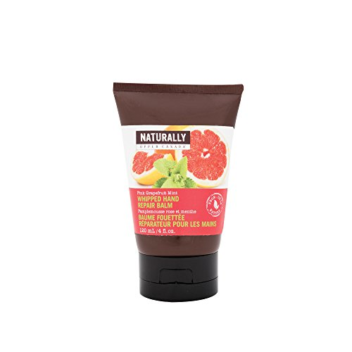 (Naturally by Upper Canada Whipped Hand Repair Balm, Pink/Grapefruit Mint)