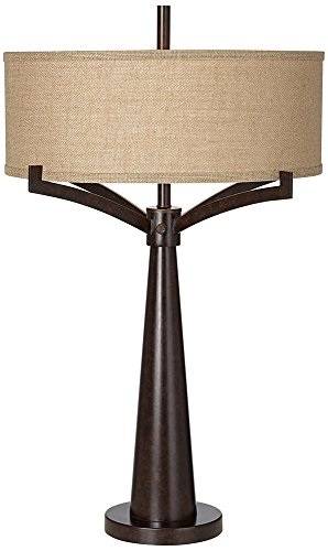 Tremont Bronze Iron Table Lamp by Franklin Iron Works
