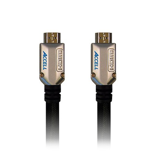Accell B124C-003B ProUltra Elite High Speed HDMI Cable with Ethernet - 3.3 Feet (1 Meter)
