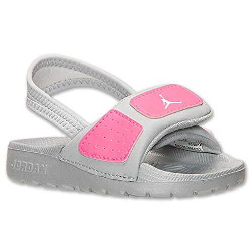 86c36aa2925f4c Galleon - Nike Jordan Toddlers Jordan Hydro 3 Gt Mtlc Platinum White Hyper  Pink Sandal 9 Infants US