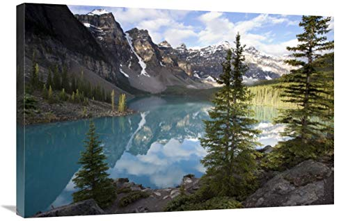 Global Gallery Moraine Lake in The Valley of The Ten Peaks, Banff National Park, Alberta, Canada-Canvas Art-36