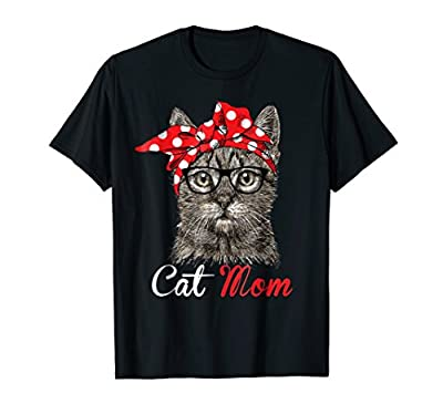 Funny Cat Mom Shirt for Cat Lovers-Mothers Day Gift