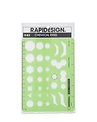 Rapidesign Chemical Rings Template, 1 Ea...